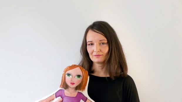 Oblikovalka Lucija Kostanjšek s svojo blagovno znamko Tiha (foto: Osebni arhiv)