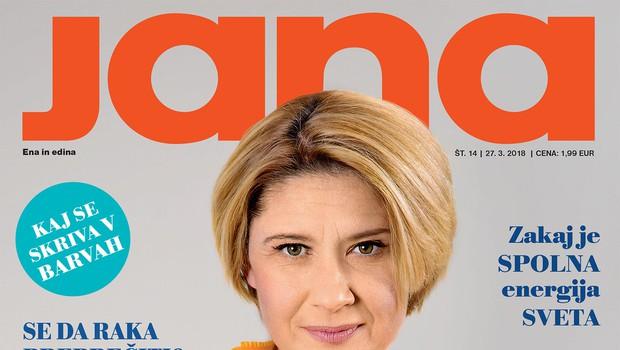 """Vesna Pernarčič: """"Nisem izgubila vere v ljubezen."""" Več v novi Jani! (foto: Jana)"""