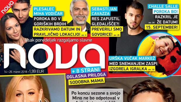 Peter Prevc na očetovski dopust! Več v novi Novi! (foto: Nova)