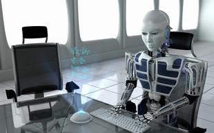 Stephen Hawking je opozoril, da bi roboti lahko povsem spremenili našo družbo