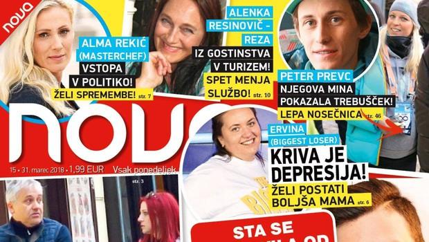 Teja in Jani: Konec kuhanja?! Več v novi Novi! (foto: Nova)