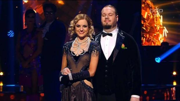 Tadeja Pavlič in Sašo Stare sta se poslovila iz šova Zvezde plešejo (foto: POP TV)