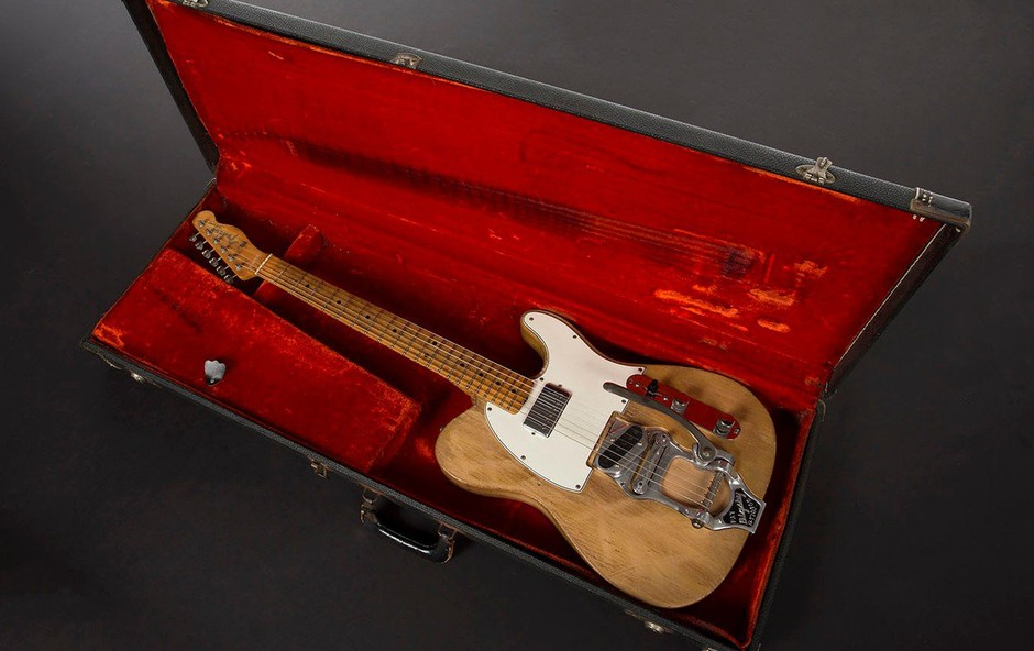 Ena najpomembnejših kitar v zgodovini rocka gre na dražbo! (foto: profimedia)