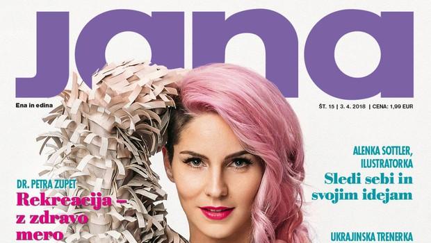 Lea Sirk, pevka: Rojena za velike odre! Več v novi Jani! (foto: Jana)