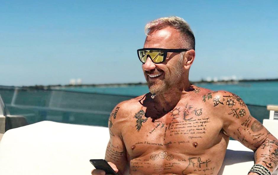 Gianluca Vacchi - didžej, milijarder in spletna zvezda (foto: Profimedia)