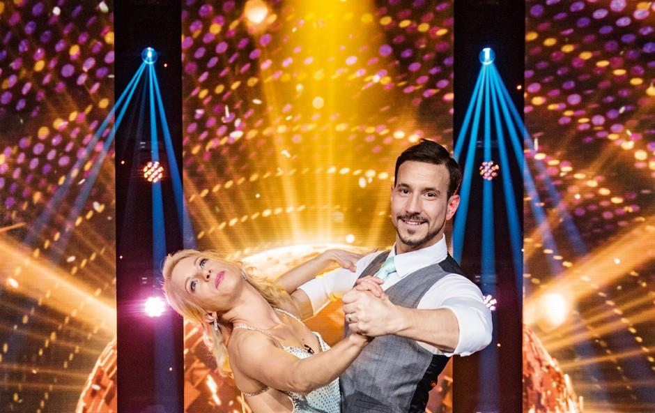 Natalija Gros svojemu plesnemu partnerju namenila ganljivo sporočilo (foto: osebni arhiv, Igor Zaplatil)