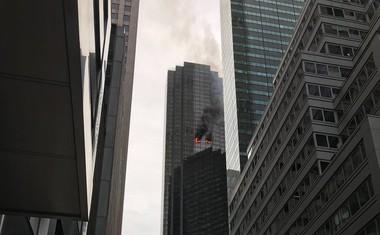 Požar v 50. nastropju Trump Towerja zahteval smrtno žrtev