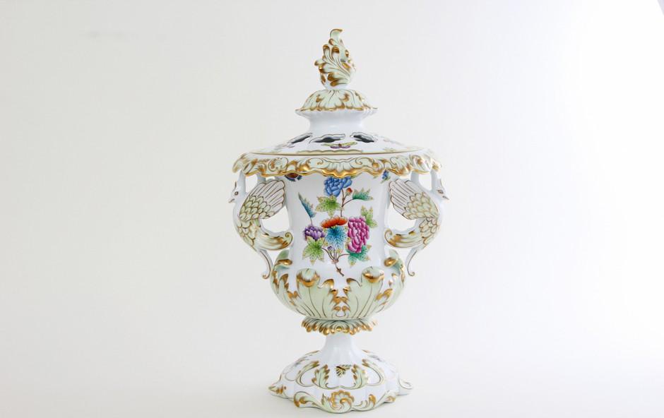 Znameniti herendski porcelan na ogled v Lendavi (foto: Arhiv Herendi Porcelánmanufaktúra Zrt)