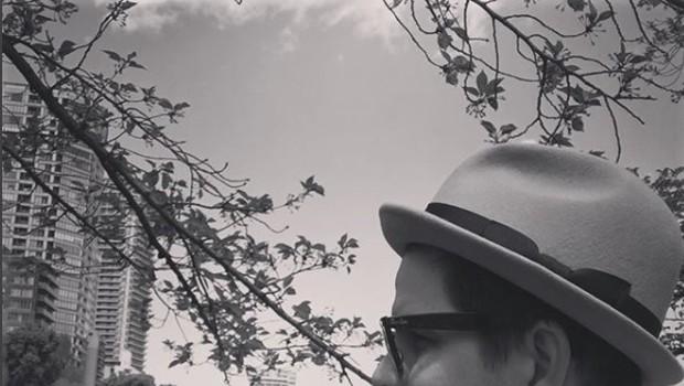 V mesecu dni bo Jurij skakal po mestnih prestolnicah - Londonu, Hong Kongu, Moskva ... trenutno se nahaja na Japonskem, ob obisku pa je na svojem Instagram profilu napisal, da »ljubi Tokyjo«. (Vir: Instagram) (foto: Press)