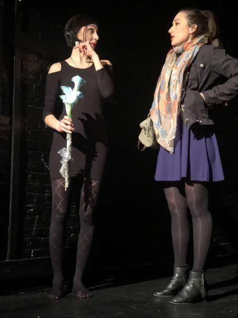 Zala Djurić z Gajo Višnar newyorški publiki predstavila komedijo Doorman (foto: Robi Poredoš/STA)