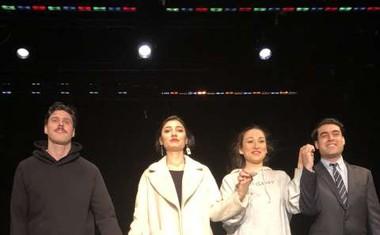 Zala Djurić z Gajo Višnar newyorški publiki predstavila komedijo Doorman