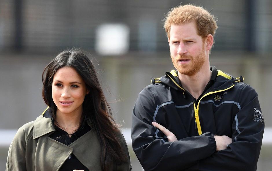 Harry in Meghan na poroko ne bosta povabila politikov (foto: profimedia)
