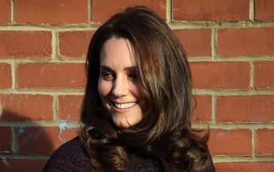 """Britanska """"predporodna"""" mrzlica: Oboževalci že pred porodnišnico, v kateri bo rodila vojvodinja Kate"""
