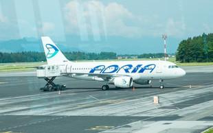 Adria Airways začasno prekinja letenje, opravili bodo le dva leta