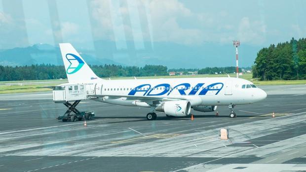 Adria Airways začasno prekinja letenje, opravili bodo le dva leta (foto: profimedia)
