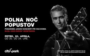 Z nočnim nakupovanjem do zasebnega koncerta Jana Plestenjaka