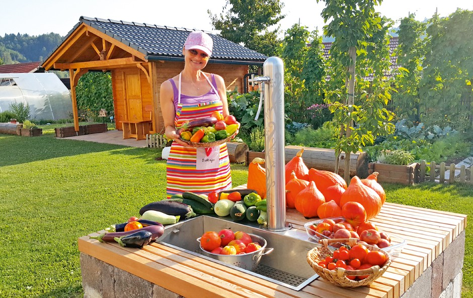Nataša Bešter razkriva skrivnosti uspešnega vrtnarjenja! (foto: Osebni arhiv)
