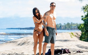 Megan Fox in Brian Austin Green: Zaljubljenca na plaži