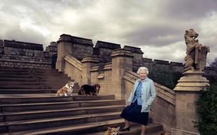 Kraljica Elizabeta močno potrta ob izgubi svojega psa Willowa