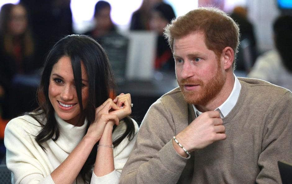 Harry in Meghan v finančni stiski, denarnico je moral odpreti princ Charles (foto: Profimedia)