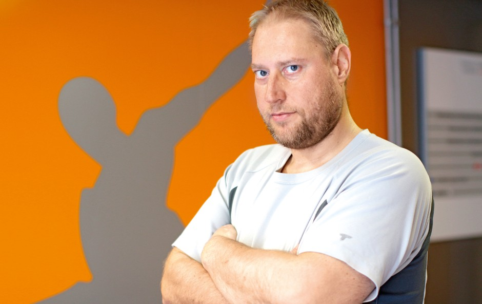 Henrik Lutz o zakulisnih igricah v šovu The Biggest Loser (foto: Goran Antley)