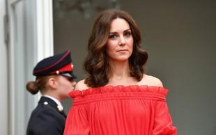 Kate Middleton že pripravila torbo za v porodnišnico