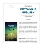 Potovanje gurujev – čudovit roman Roka Babnika o usvajanju čuječnosti in ljubezni do sveta! (foto: Primus)