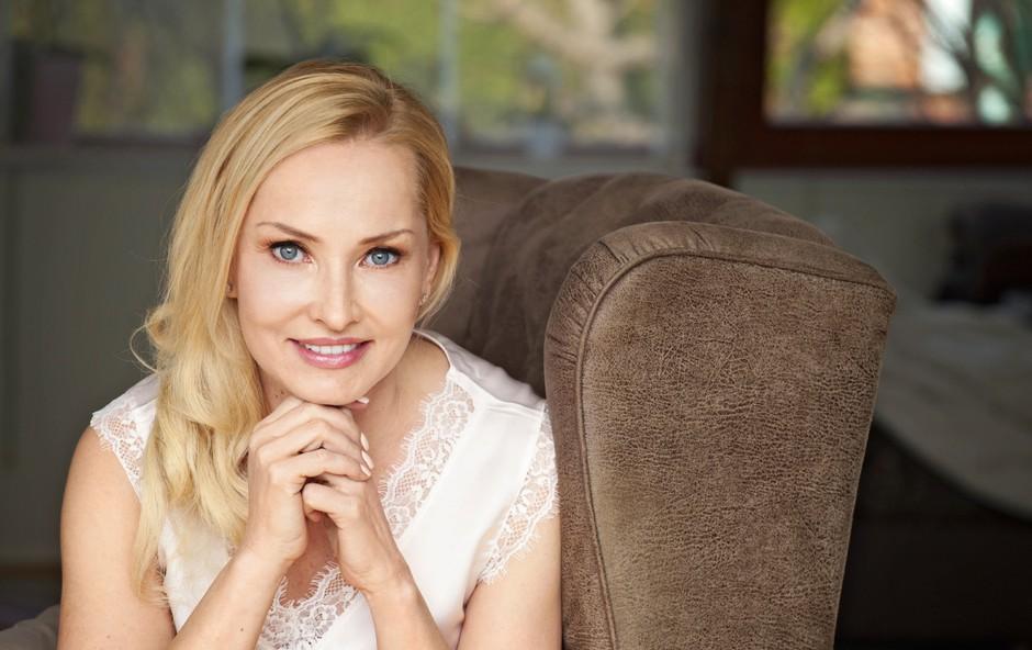 """Tanja Ribič: """"Stvari, ki jih ne morem spremeniti, odmislim!"""" (foto: Aleksandra Saša Prelesnik)"""