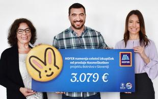 Velikonočni Nasmeškotki z deljenjem nasmehov zbrali več kot 3.000 evrov