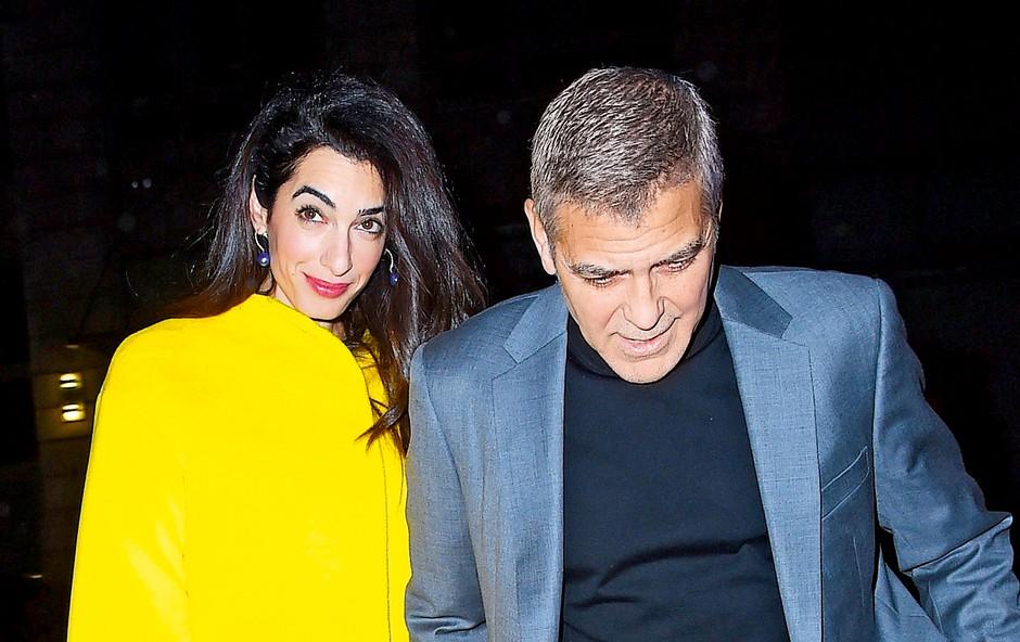 Amal je pred Clooneyjem že obupala nad ljubeznijo (foto: Profimedia)