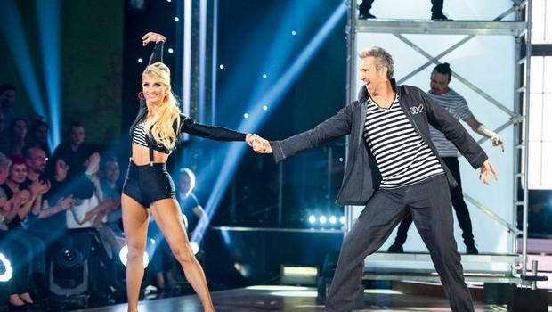 Werner je ob plesu izgubil kilograme (foto: Pop TV)