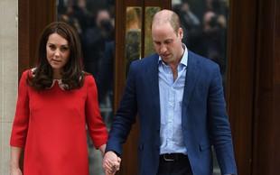 Princ William in Kate Middleton sta se po dolgem času znova držala za roke