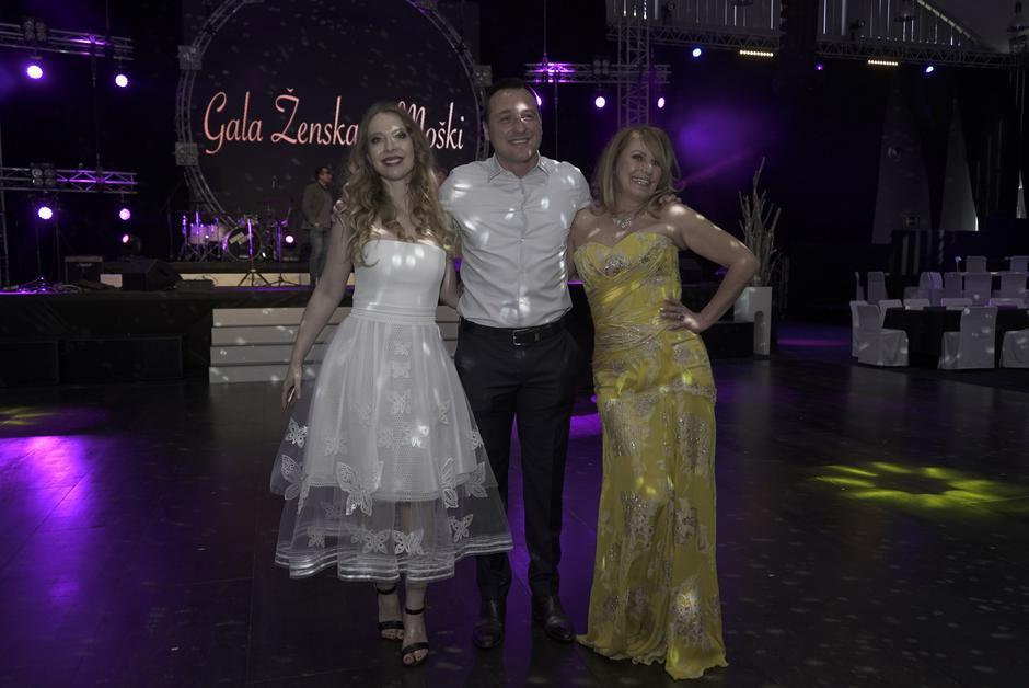 Savina Atai in Zvezdana Mlakar tudi letos z Gala Ženska in Moški (foto: Ana Kregar)
