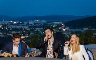 Skupina Tequilla z 'Lažu, lažu sve' na razglednem stolpu Ljubljanskega gradu!