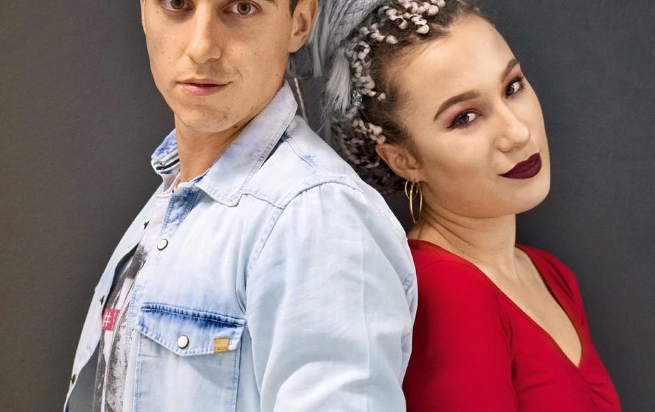 Nino Ošlak in Anabel: Od oboževalke do varovanke (foto:  Marko Maag)