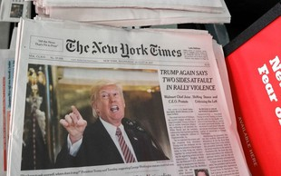 Trumpovi napadi so dobri za medije, ki jih ne mara