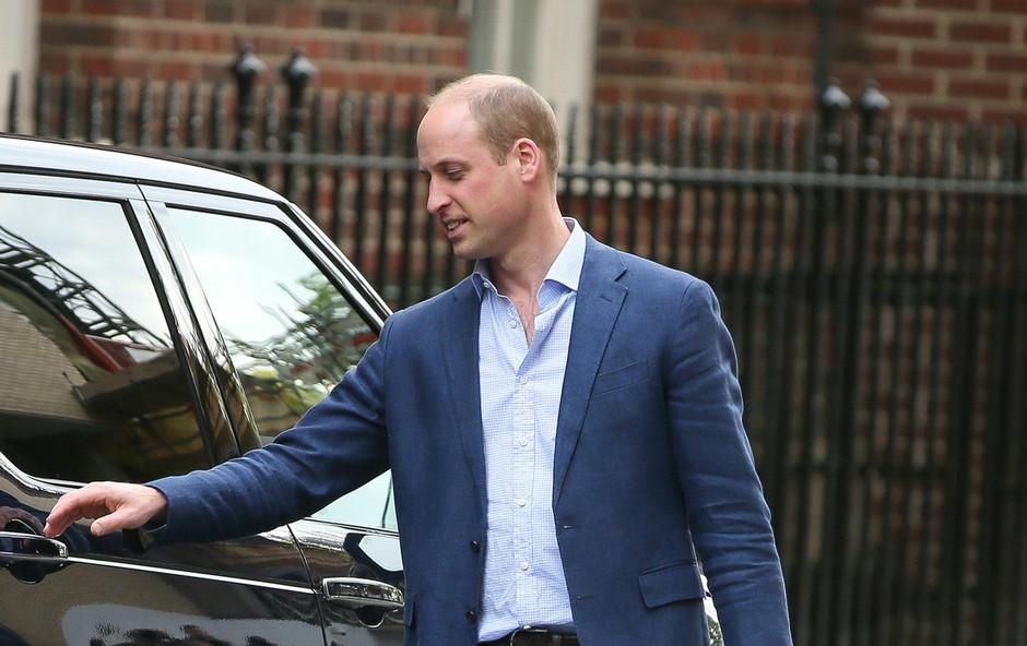 Princ William razkril, kako se počutita Kate Middleton in mali princ (foto: Profimedia)