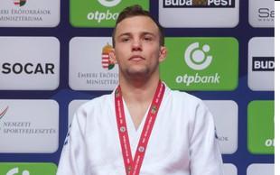 Zlati judoist Adrian Gomboc je nasprotnike po blazinah premetaval kot za šalo!