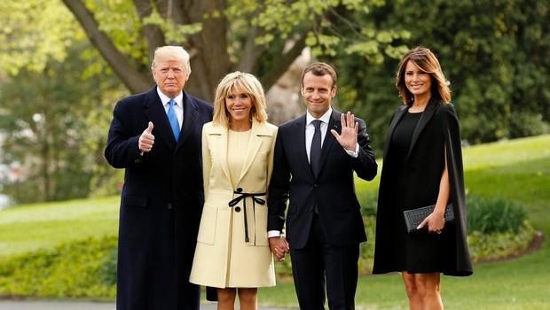 Brigitte Macron: Melania Trump je inteligentna, zabavna, z močno osebnostjo (foto: Profimedia)