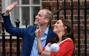 William in Kate tretjega otroka poimenovala Louis Arthur Charles