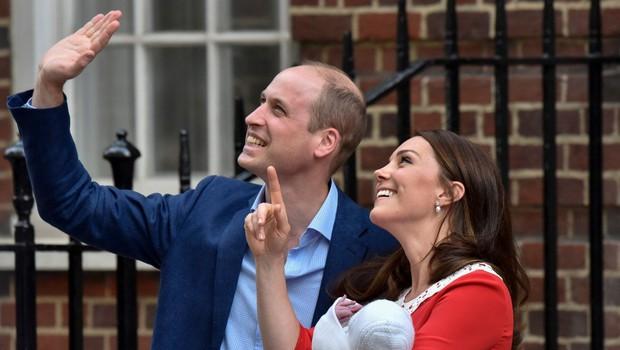 William in Kate tretjega otroka poimenovala Louis Arthur Charles (foto: profimedia)