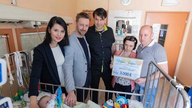 Prva donacija Sklada Viljem Julijan, namejenega pomoči otrokom z redkimi boleznimi (foto: Promocijski material)