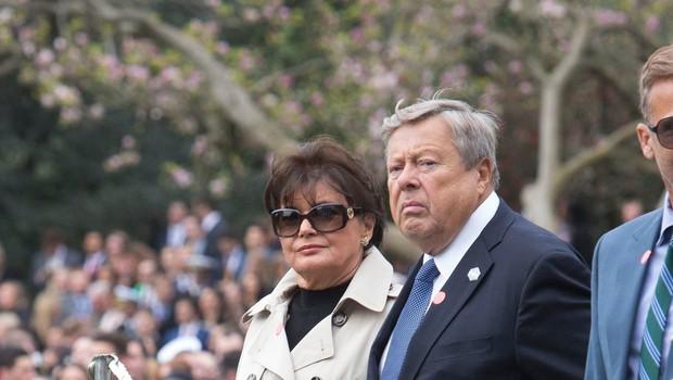 Viktor in Amalija Knavs obiskala zvezni imigracijski urad v New Yorku (foto: profimedia)