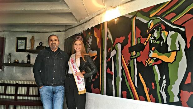 Maja Zupan: Finale Miss Slovenije v Trbovljah! (foto: Jelka Verk)