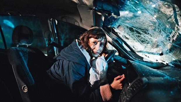 Reka ljubezni: Prometna nesreča in stavka - najbolj zahtevni prizori! (foto: Ksaver Šinkar)