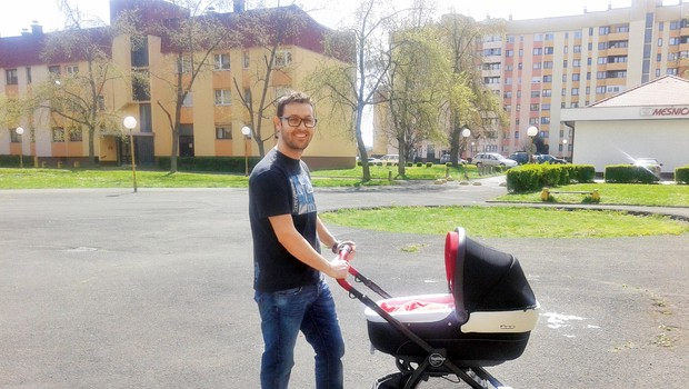Luigi Petrella (Gostilna išče šefa) je postal očka! (foto: MIMA)