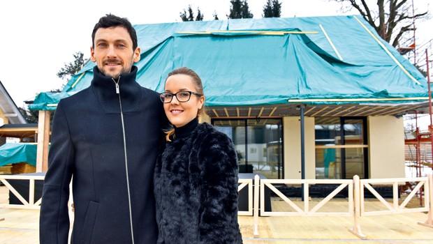 Jakov Fak: Hiša bo kmalu končana! (foto: Igor Zaplatil)