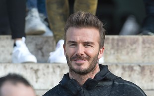 David Beckham zaradi sina planil v jok