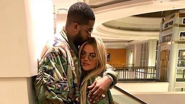 Khloe Kardashian in Tristan Thompson po hudem škandalu spet skupaj v javnosti (foto: Profimedia)