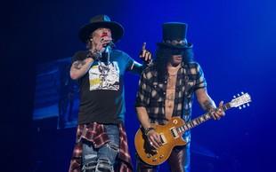 Skupina Guns N' Roses iz arhiva izkopala še neobjavljene pesmi in posnetke
